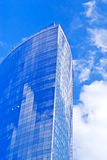 Modern cityscape: tall futuristic skyscraper Stock Image