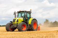 Modern Claas tractor Stock Photos