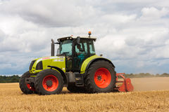 Modern Claas tractor Royalty Free Stock Photo