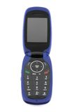 Modern clamshell cell phone Stock Photo