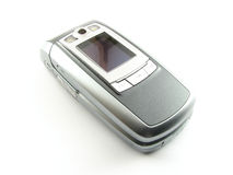 Modern clamshell phone Stock Photography