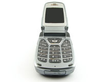 Modern clamshell phone Royalty Free Stock Image