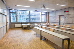 Modern class room. Stock Photos
