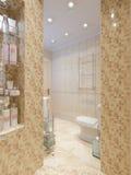 Modern Classic Bathroom Interior Design Royalty Free Stock Photo