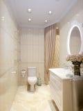 Modern Classic Bathroom Interior Design Stock Image