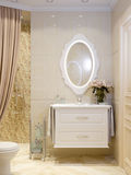Modern Classic Bathroom Interior Design Royalty Free Stock Photos