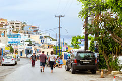 Modern and classic Greek architecture, Village Bali, Crete Stock Photography