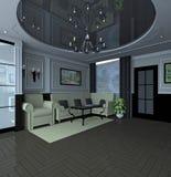Modern classic interior design Stock Image