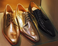 Modern classic shoes Stock Image