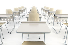 Modern classroom Royalty Free Stock Images