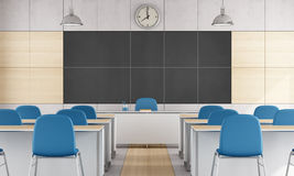 Modern classroom Stock Photo