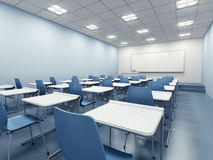 Modern classroom interior Stock Photography