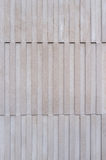 Modern clean stone facade Stock Photo