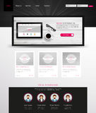 Modern Clean Website Template Eps 10 Vector Stock Photography