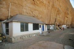 Modern cliff dwelling Stock Photo