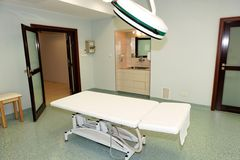 Modern clinical interior Royalty Free Stock Images