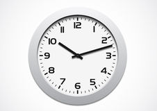 Modern clock Royalty Free Stock Photo