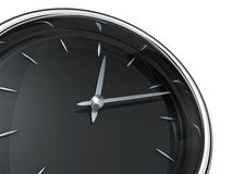 Modern clock Stock Photography