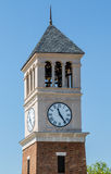 Modern Clock And Bell Tower Royalty Free Stock Images