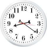 Modern clock Royalty Free Stock Photos