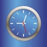 Modern clock face illustration Royalty Free Stock Photo