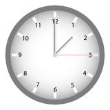 Modern Clock Royalty Free Stock Photos
