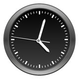 Modern Clock Royalty Free Stock Image