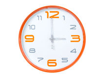Modern clock Royalty Free Stock Photography