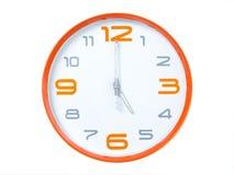 Modern clock Royalty Free Stock Photography