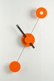 Modern clock on a wall Stock Photography