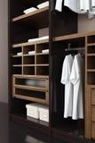 Modern closet 3d rendering Stock Images