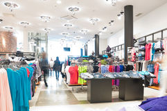 Modern clothes shop