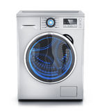 Modern clothes washer Royalty Free Stock Photos