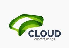 Modern cloud logo Stock Photography