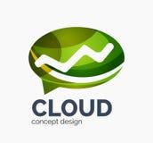 Modern cloud logo Stock Images