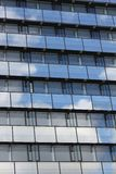 Modern cloud window building Royalty Free Stock Image