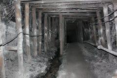 Modern coal mine underground Royalty Free Stock Image