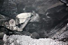 Modern coal mine underground Stock Photos