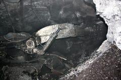 Modern coal mine underground Stock Photo