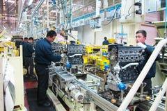 Modern coercion engine plant in China Stock Photos