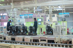 Modern coercion engine plant in China Royalty Free Stock Photography