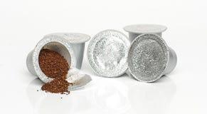 Modern coffee capsules Stock Photo