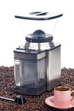 Modern Coffee Grinder Stock Image