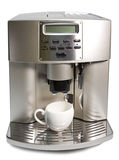 Modern Coffee Machine Royalty Free Stock Photography