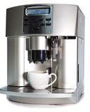 Modern Coffee Machine Royalty Free Stock Images