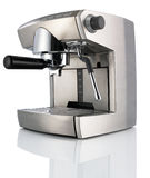 Modern Coffee Machine (maker) isolated Royalty Free Stock Photography