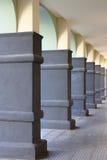 Modern colonnade Stock Photos
