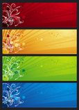 Modern  color banners, vector Royalty Free Stock Images