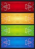 Modern  color banners, vector Royalty Free Stock Photos