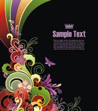 Modern colored background Stock Images